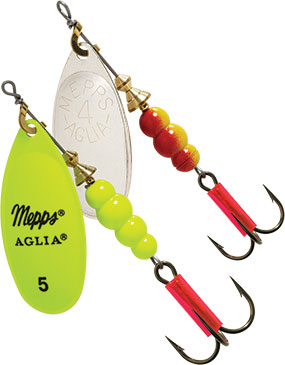 inline spinners for bass